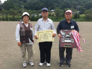 優勝 東吾妻町Fチーム